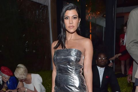 2018 GQ Men of the Year Party - Arrivals Kourtney Kardashian