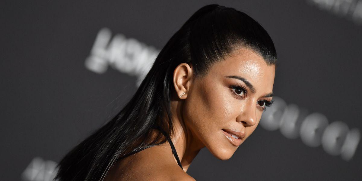 Kourtney Kardashian Swears By Adding Chlorophyll Supplements to Her Water