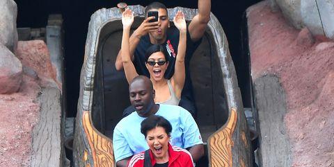kourtney kardashian had a ton of fun for her birthday at disneyland