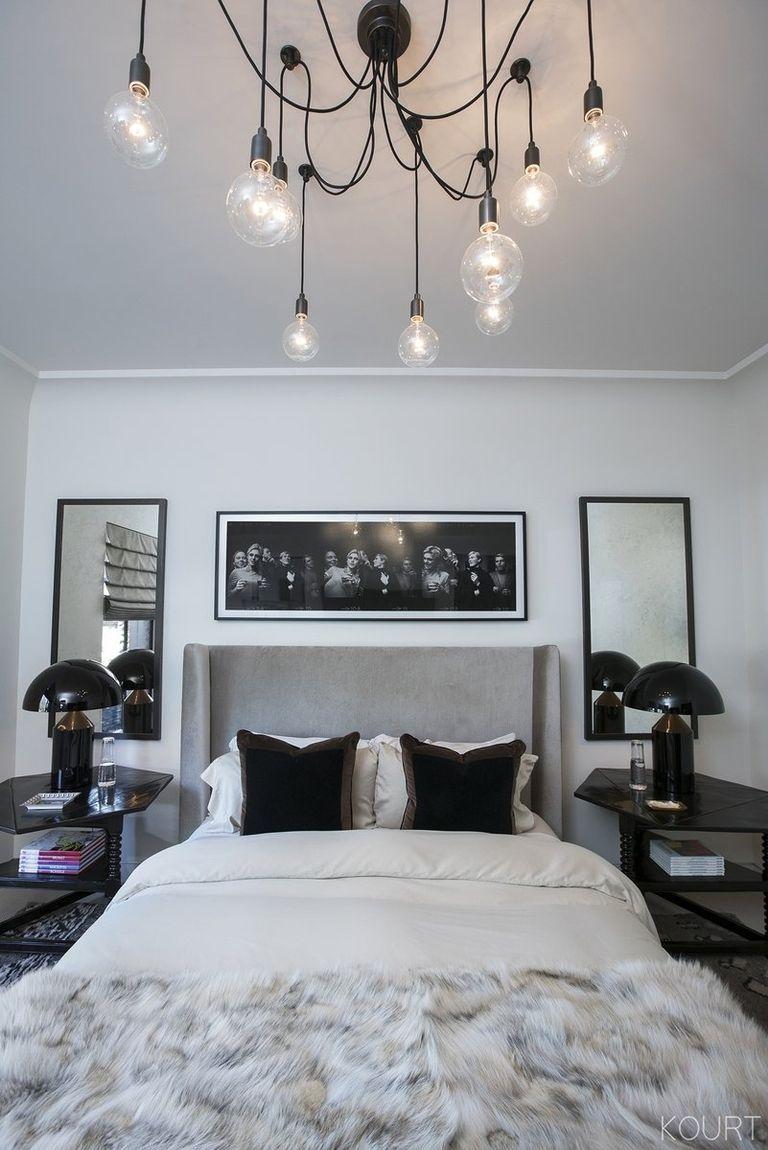 what it s like to be a guest at kourtney kardashian s home inside rh elledecor com  kourtney kardashian bedroom decor