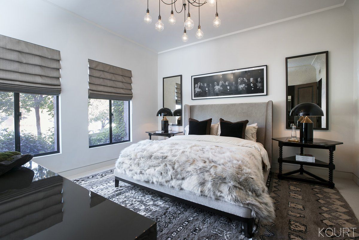 Kourtney Kardashian Guest Bedroom