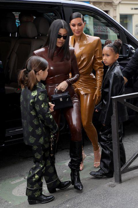 Celebrity Sightings - Paris Fashion Week Womenswear Fall/Winter 2020/2021 : Day Seven