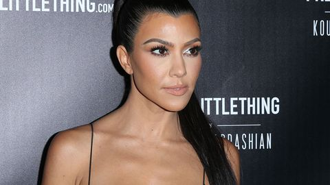 Kourtney Kardashian little things event red carpet picture