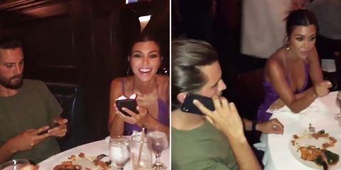 2dcdc662a2632 So Scott Disick and newly-single Kourtney Kardashian were hanging out at  Kylie Jenner s 21st
