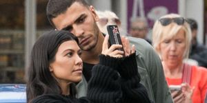 Kourtney Kardashian en Younes Bendjima