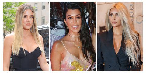 Khloe, Kourtney, and Kim Kardashian