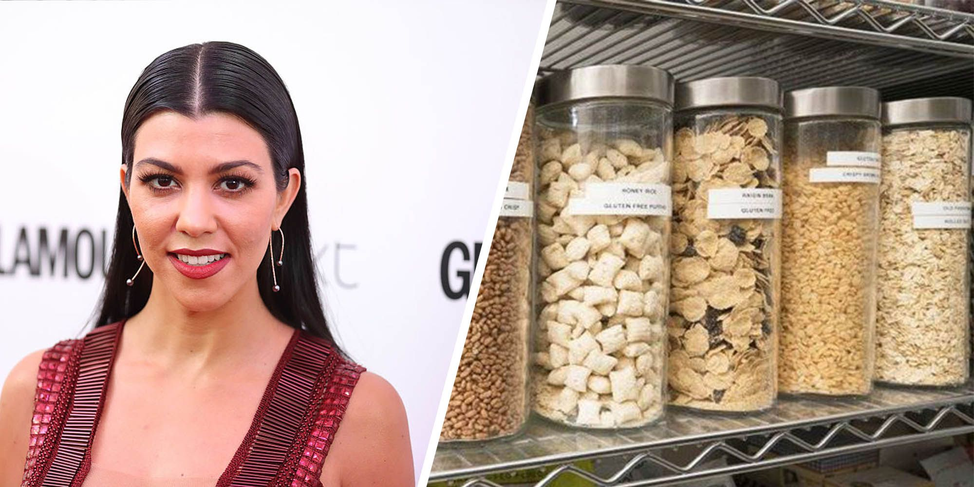 Kourtney Kardashian Pantry
