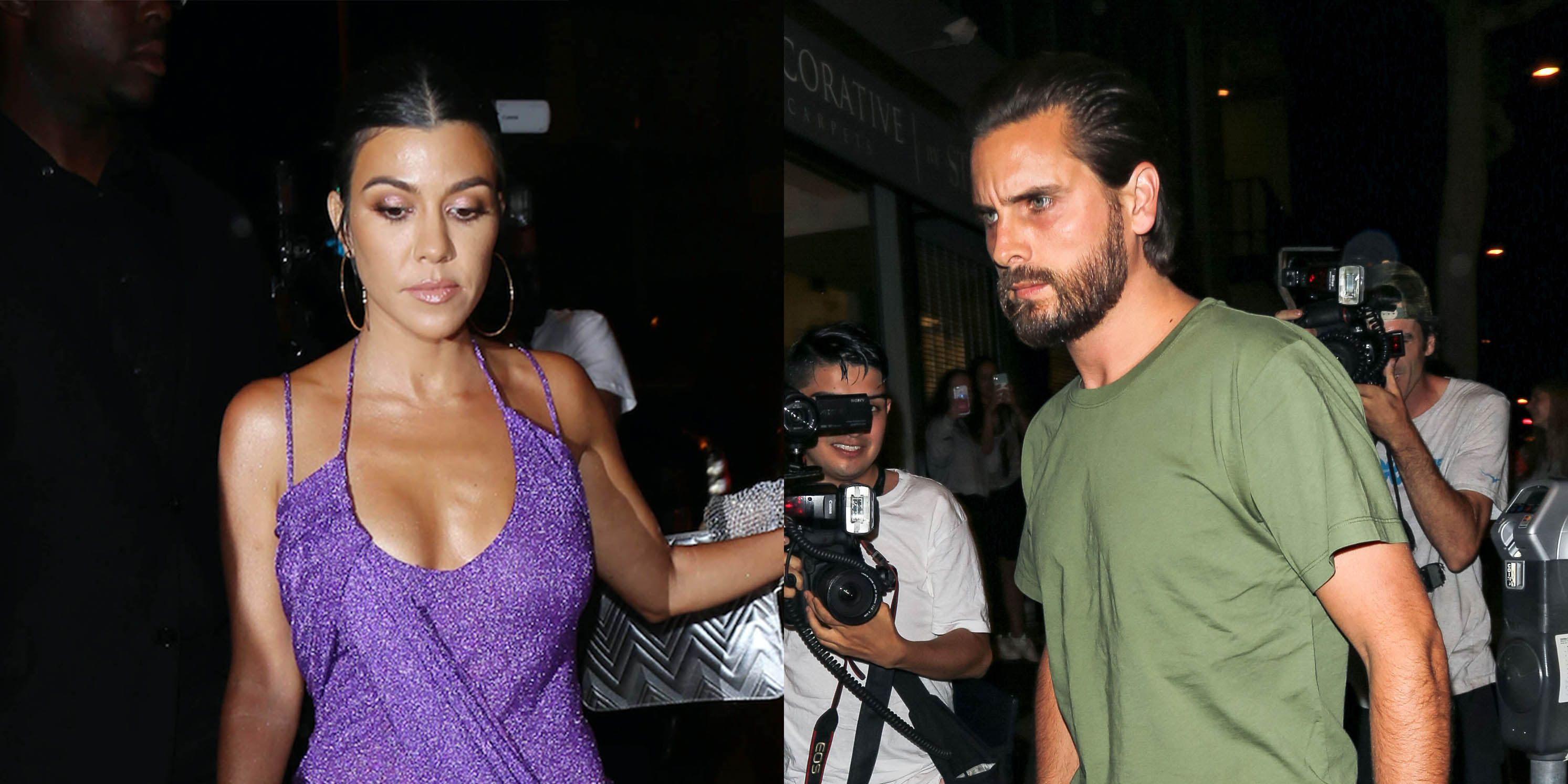 Kourtney Kardashian Parties With Ex Boyfriend Scott Disick After