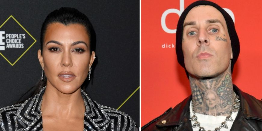 Kourtney Kardashian and Travis Barker Are Rumored to Be Dating