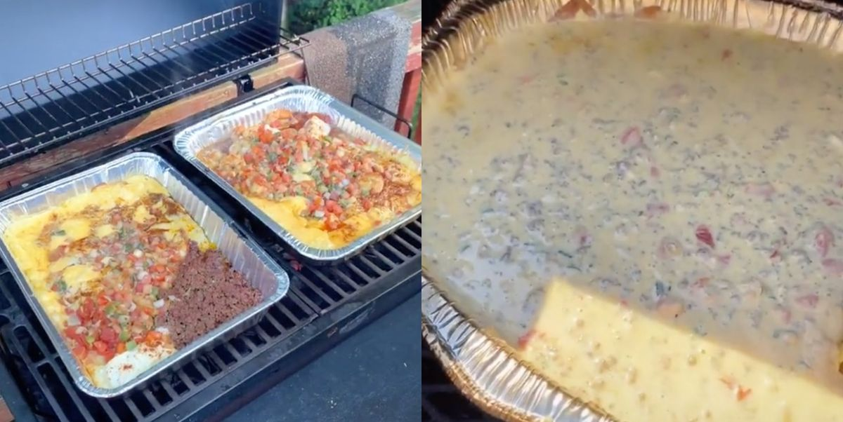 People on TikTok Are Making Homemade Queso on the Grill And It's Deliciously Genius