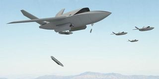 airplane, aircraft, vehicle, aviation, flight, military aircraft, air force, experimental aircraft, lockheed martin fb 22, lockheed martin f 22 raptor,