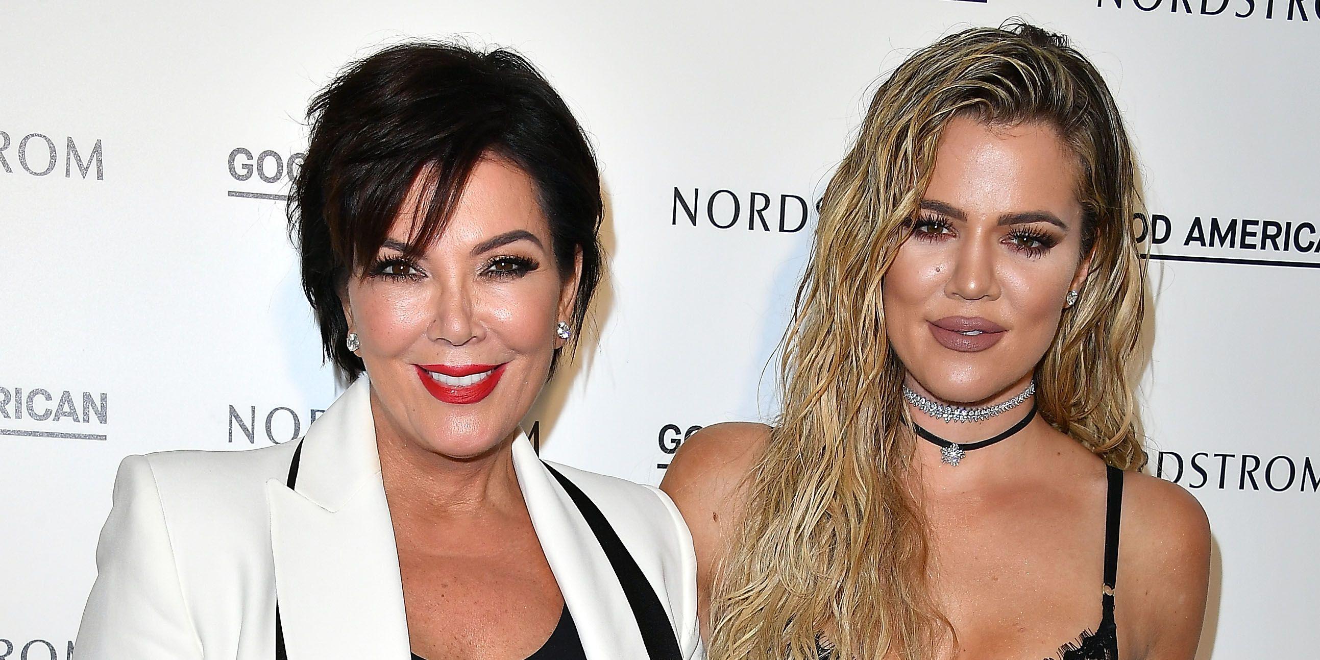 kris jenner khloe kardashian