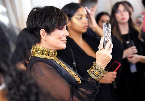Kris Jenner Met Gala 2018