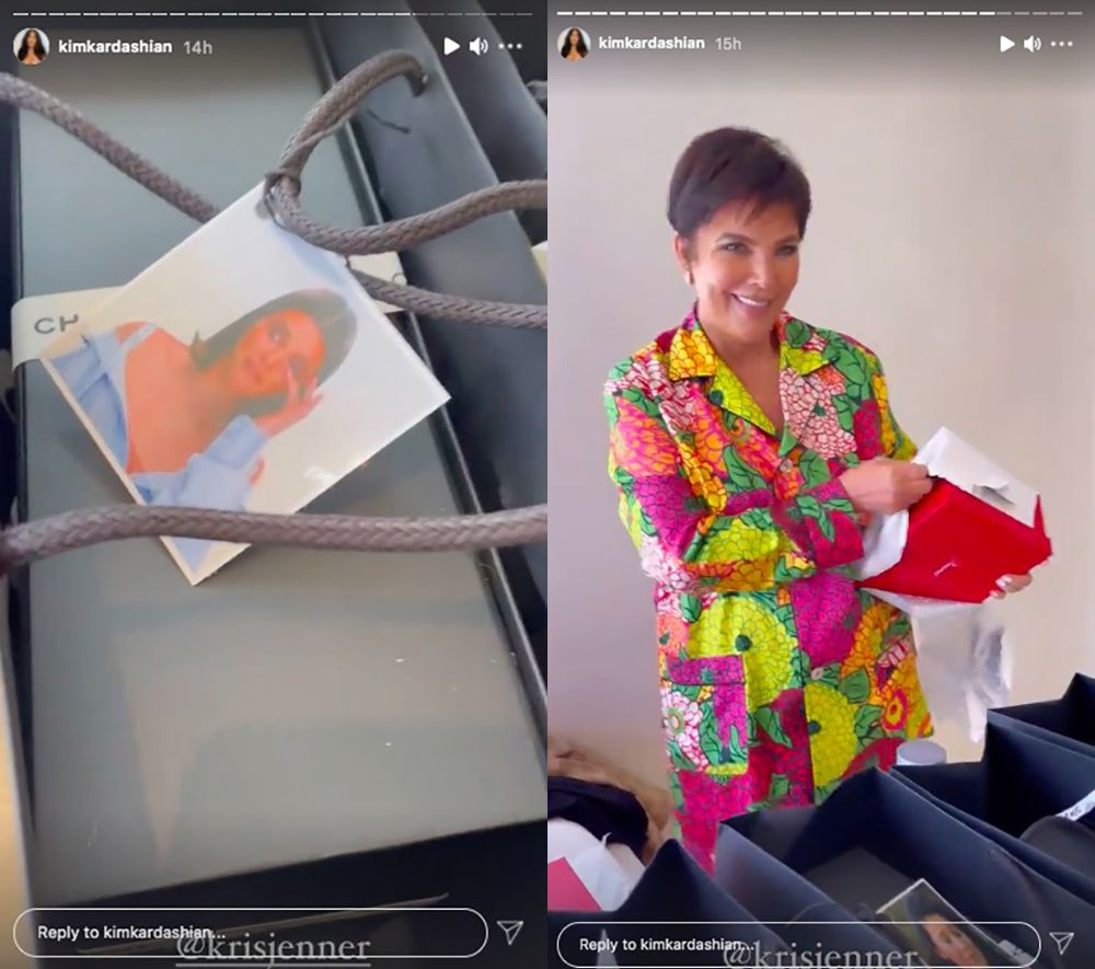 Why did Kris Jenner give Kendall Jenner a Mother's Day gift?