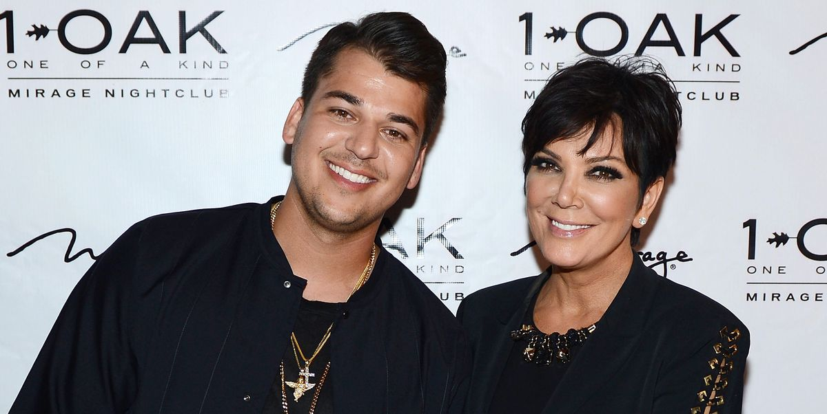 Kris Jenner Gives A Rare Update On How Rob Kardashians Doing-7753