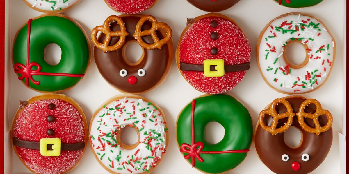 Krispy Kreme Australia Features Christmas Tree Kit-Kat ... |Christmas Krispy Kreme Doughnuts