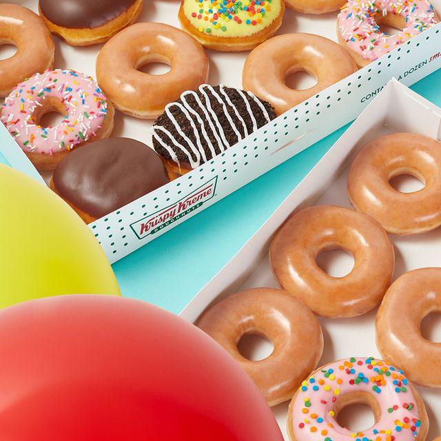krispy kreme 84th birthday donuts deal