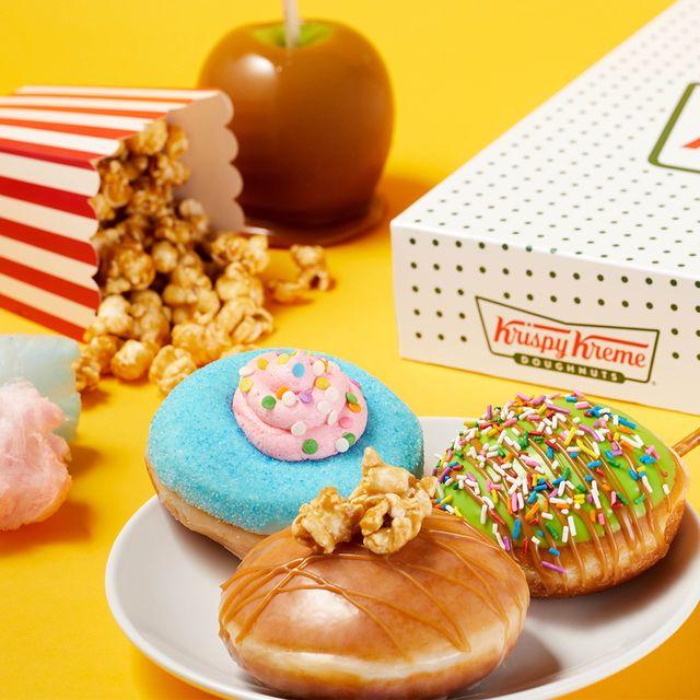 krispy kreme carnival collection donuts