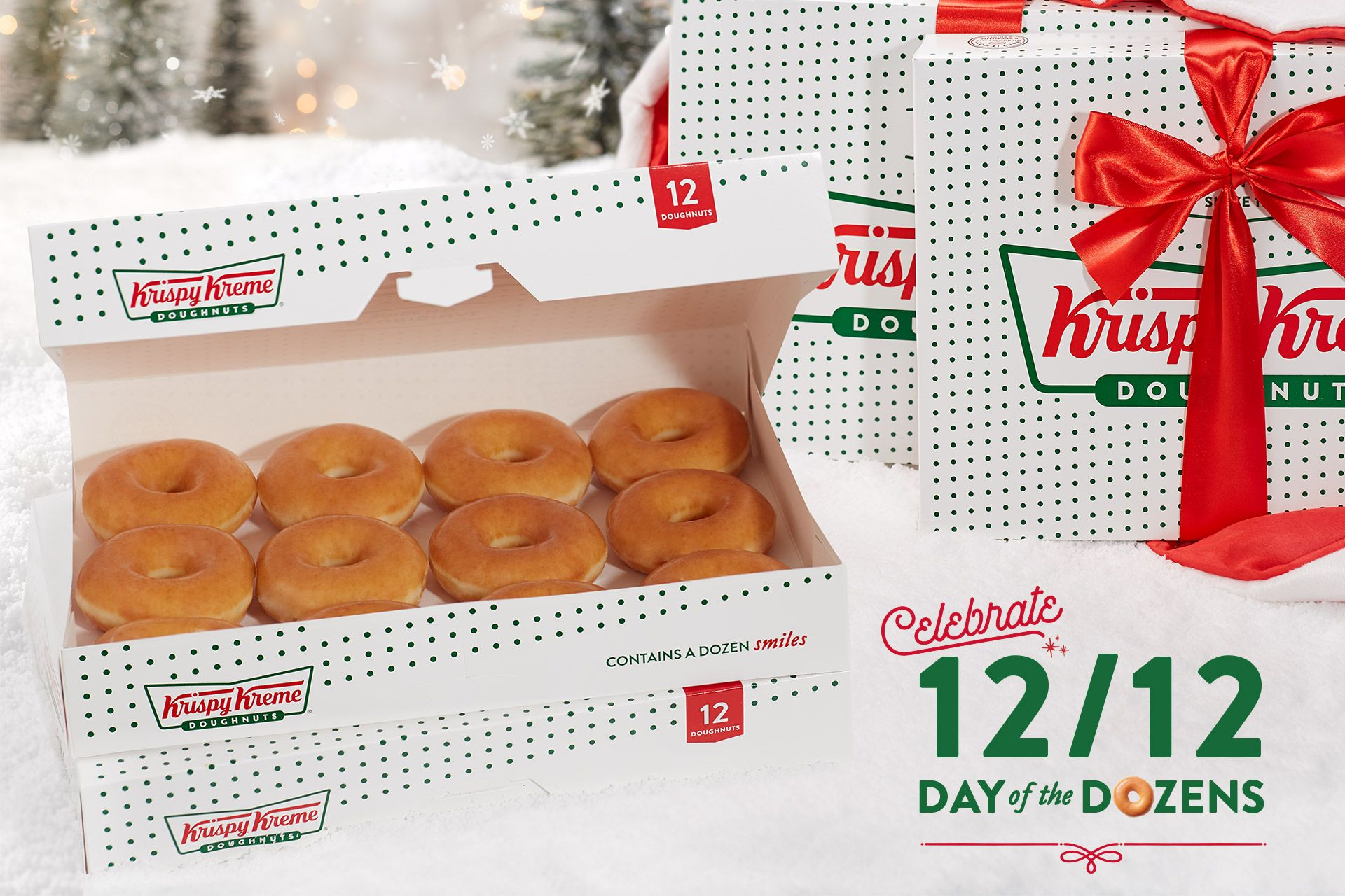 Krispy Kreme Is Giving Out $1 Dozens for the Annual 'Day of Dozens' Promotion