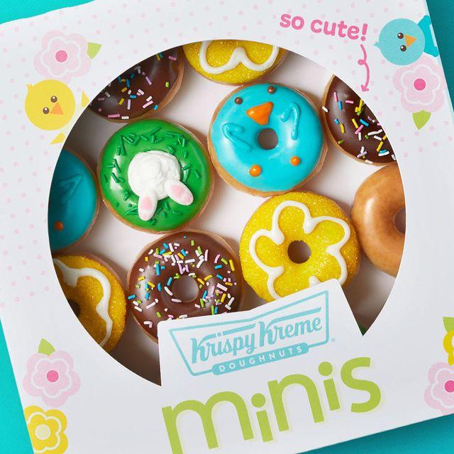 krispy kreme 2021 spring mini donuts