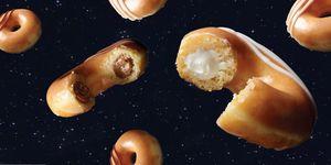 Krispy Kreme filled donut