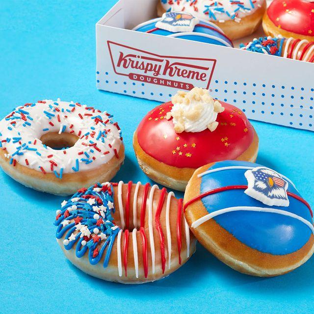 krispy kreme fourth of july donut collection