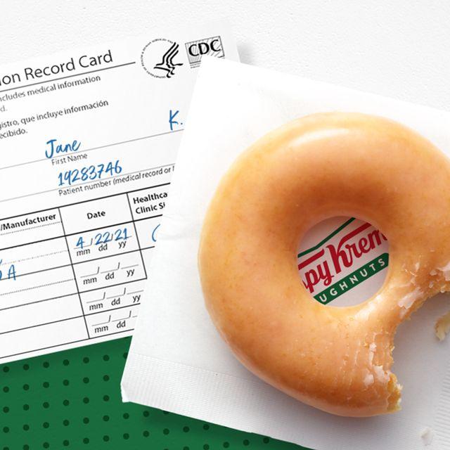 krispy kreme covid 19 vaccine free original glazed donut