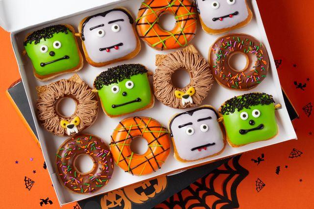 krispy kreme halloween dozen