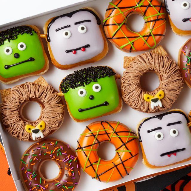 krispy kreme halloween scary sweet monster doughnuts