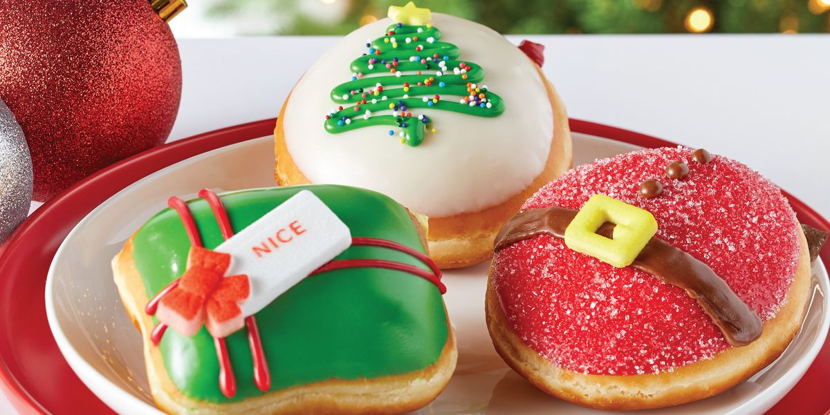 Krispy Kreme Announced Its Holiday Donut Line And It Includes One With A Sugar Cookie Kreme