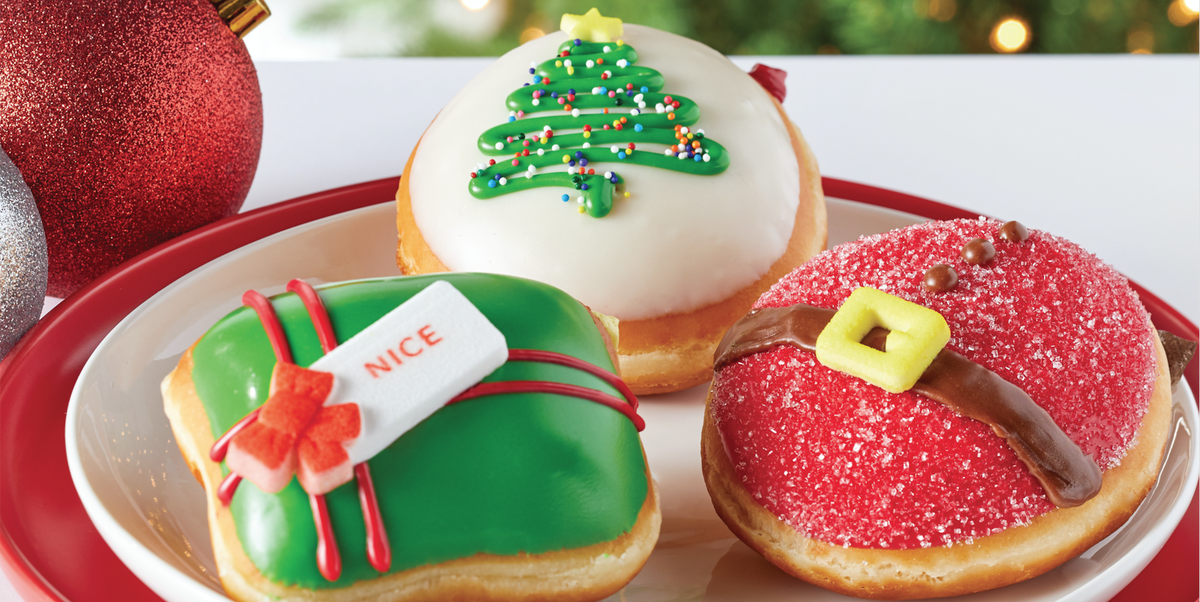 Krispy Kreme's New Holiday Doughnut Flavors Are Sure to Make Spirits Bright