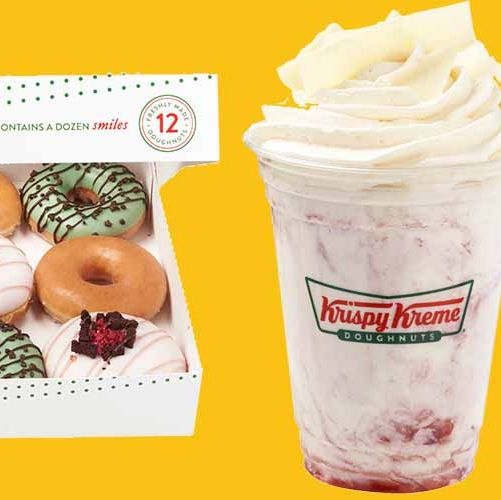 krispy kreme doughnuts now come in ice cream flavours