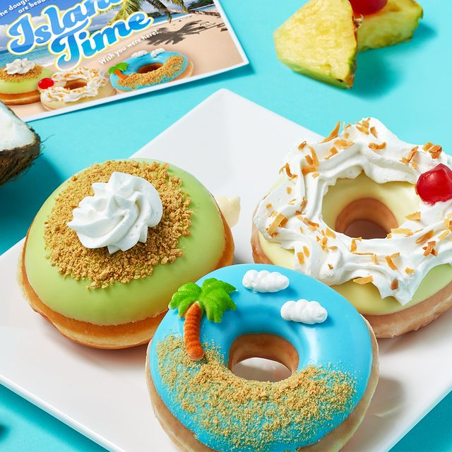 krispy kreme island time donuts