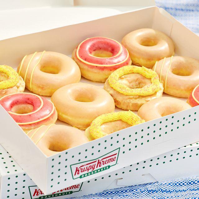 krispy kreme lemonade glaze donut collection