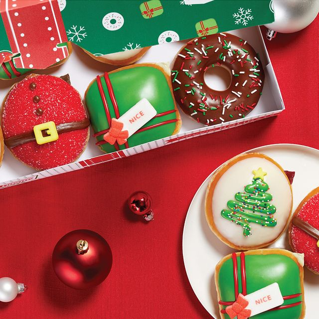 krispy kreme nicest holiday collection donuts
