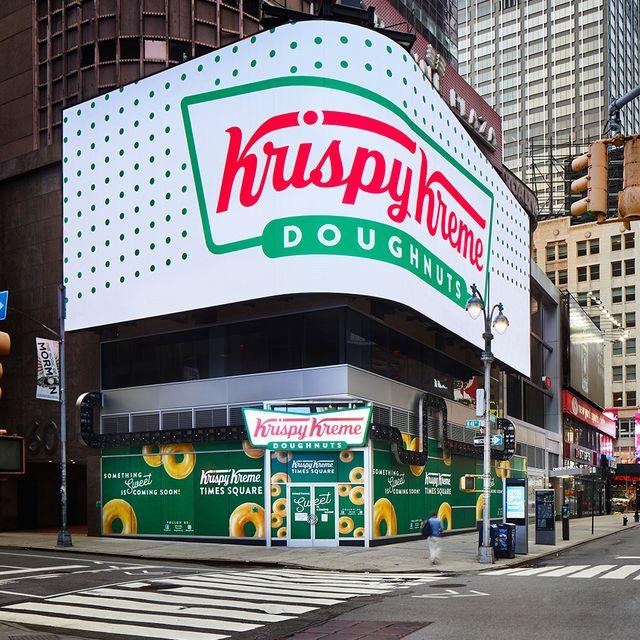 krispy kreme nyc times square flagship location