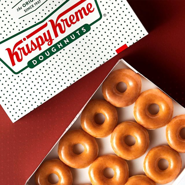 krispy kreme original glazed donuts