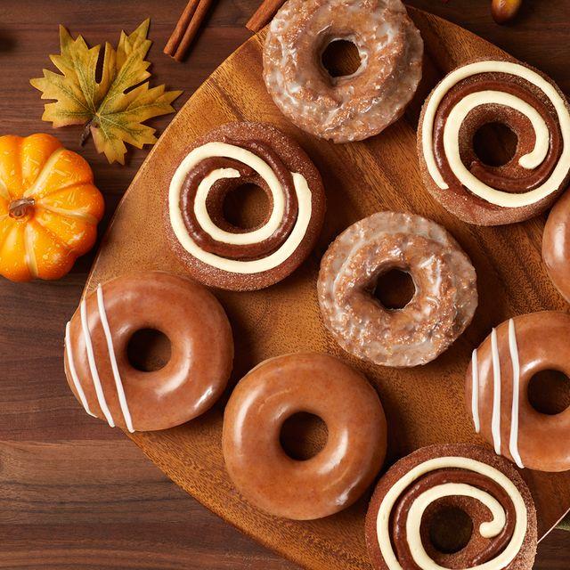 krispy kreme pumpkin spice doughnut collection