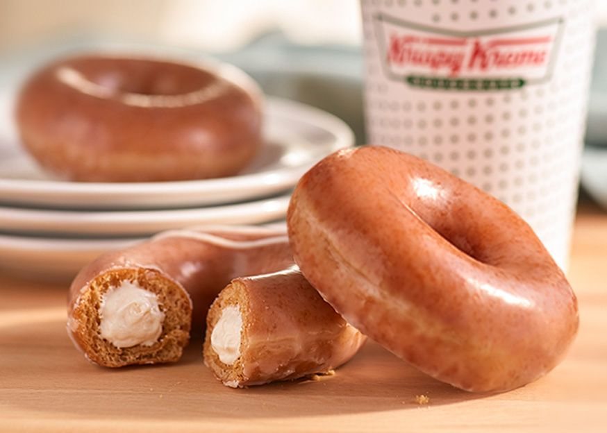 Krispy Kreme Is Selling Pumpkin Spice Stuffed Donuts