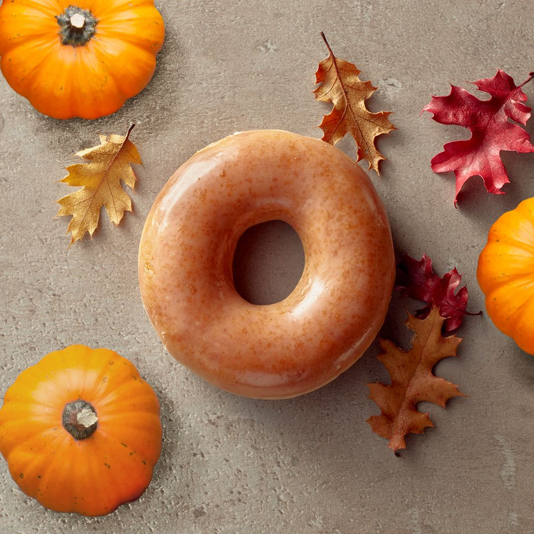 pictures Krispy Kreme Is Making Pumpkin Spice Donuts A Hot Commodity