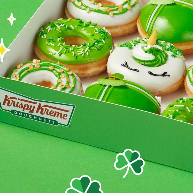 krispy kreme st patrick's day luck o the doughnuts