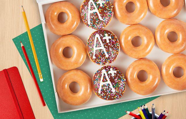 krispy kreme teachers free dozen