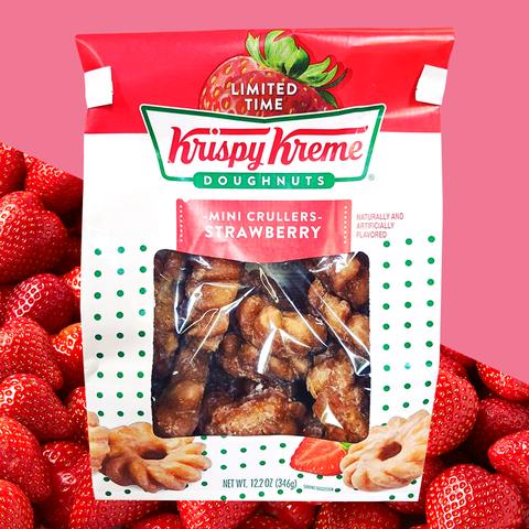 krispy kreme strawberry donuts