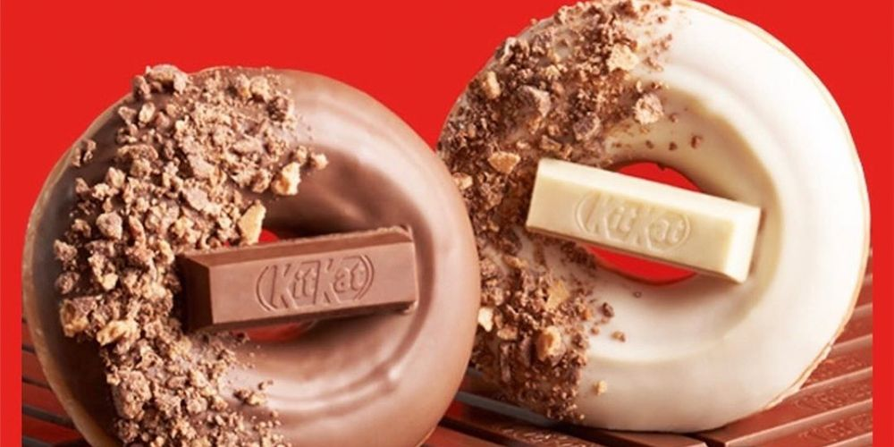 Krispy Kreme Is Releasing Kit Kat Donuts So Prepare To Give In To Your