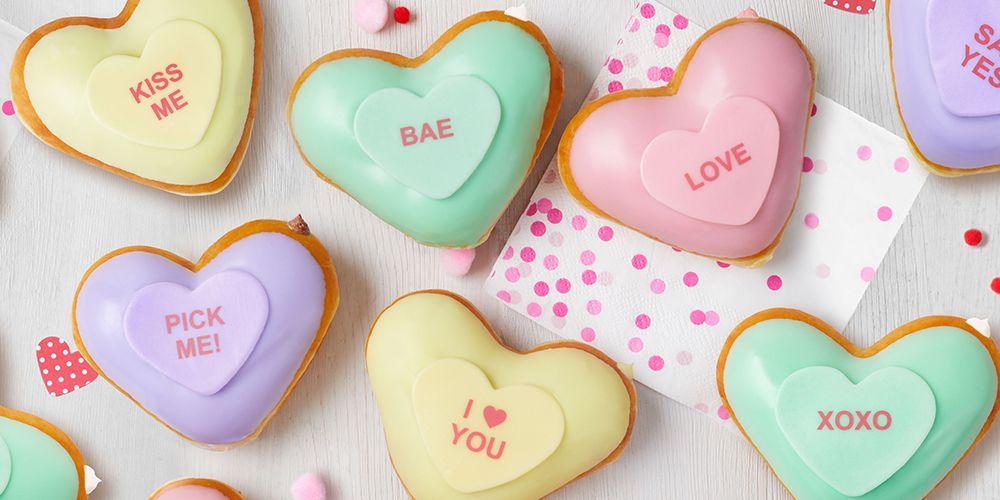 Krispy Kreme's Conversation Heart Donuts Guarantee a Sweet Valentine's Day