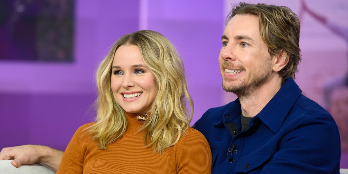 Dax Shepard Shared a Photo of Kristen Bell Doing Nude Yoga on Mother's Day