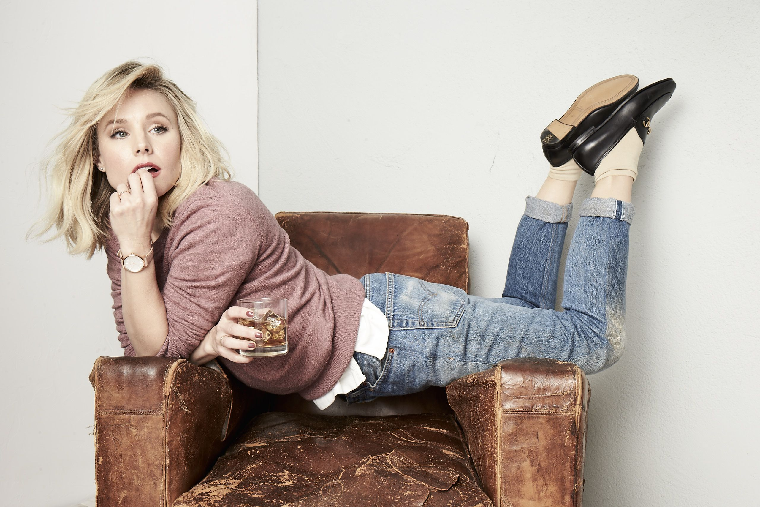 bfe577ebf1e7b4 Kristen Bell on Why You Should Schedule Time to Waste Through Out Your Day