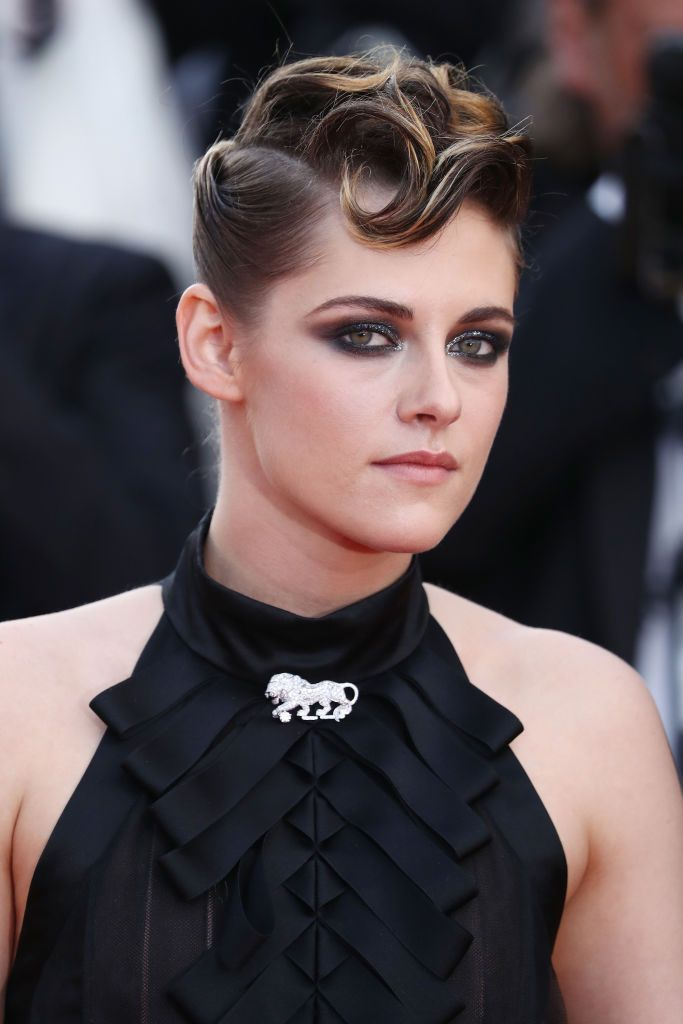 Kristen Stewart Historically, K. Stew tried to keep her high-profile relationships on the DL (RIP R. Patz). But learning to handle the spotlight actually helped her come to terms with her bisexuality, she told Elle UK .