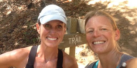 Kristin Armstrong and Friend
