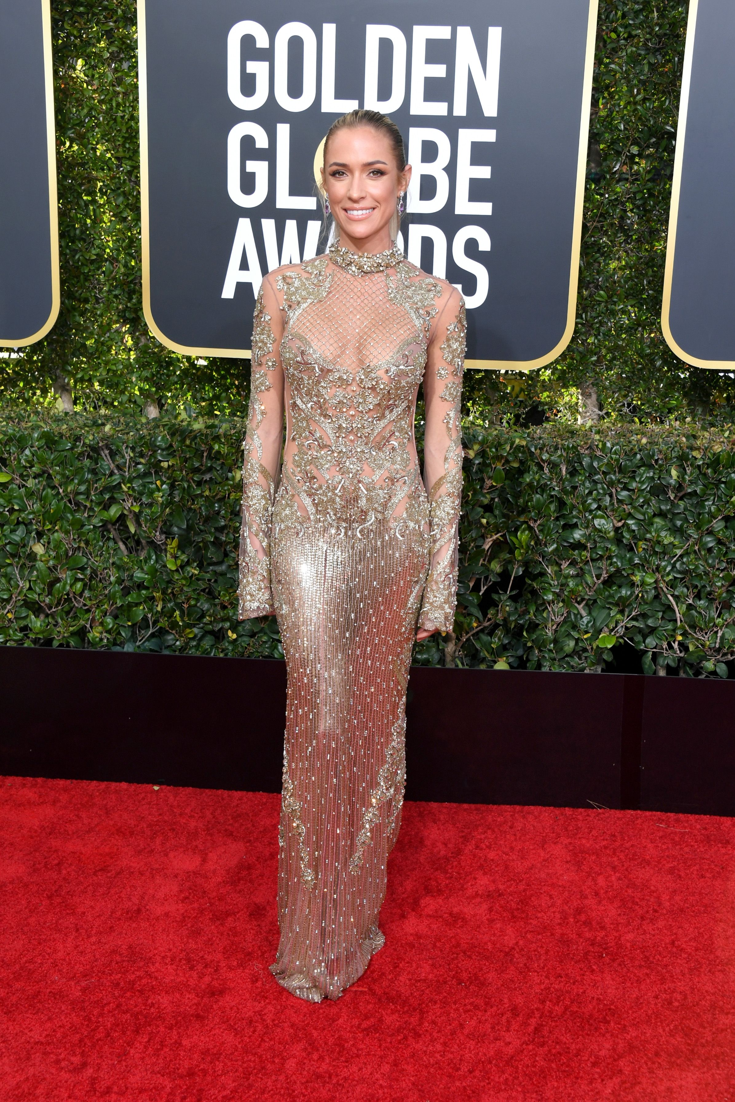 6f1bb19ddc Most Naked Dresses from the 2019 Golden Globe Awards - Naked Red Carpet  Outfits